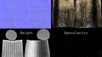 Textures for Piling