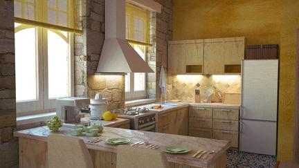 average kitchen