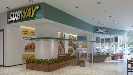Subway fast food