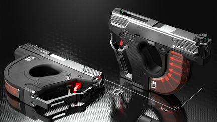 AeroMech Handgun Design