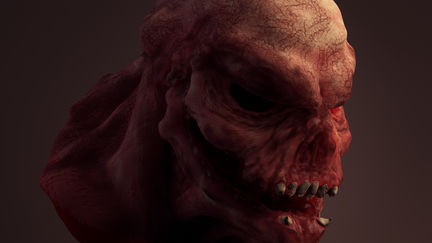 Quick sketches - Zombie Head