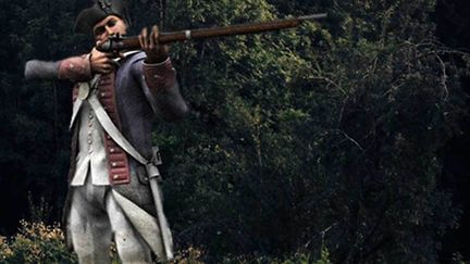 American Revolution soldier