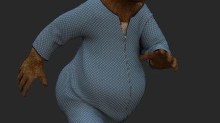 Bodysuit for Joe the bear.