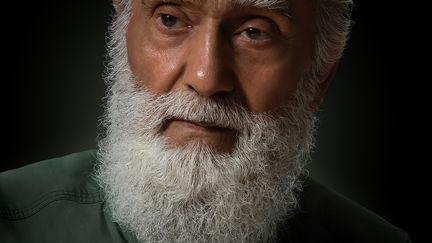 Old Beard Man watercolor