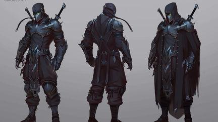 First concept - Shen Outcast