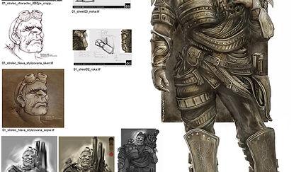 the Steampunk Warrior