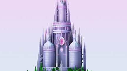 Castelo Mattel Barbie