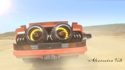Camaro 79 Jet Engine Transform
