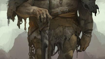 God of War Visual Development- Troll Development