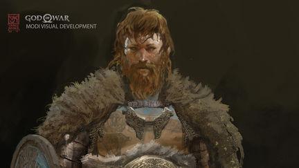 God of War Visual Development- Modi