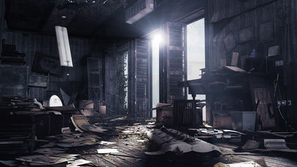 Abandoned Office - Re-Composited Version
