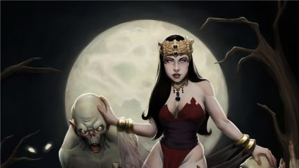 Kahli, the queen of ghouls