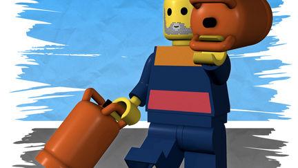 Lego, Made in Spain - Butanero