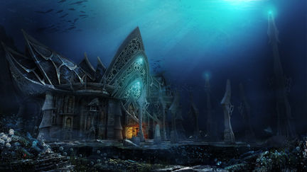 seabed castle