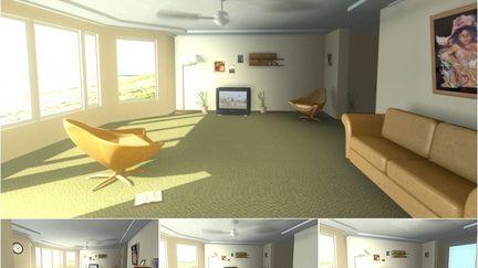 Faking GI: Architectural Interior Lighting