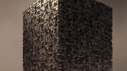 City into cube