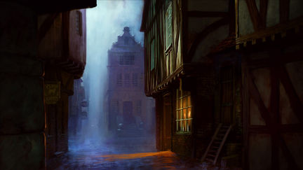 mysterious street