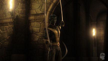 Marvel Ultimate Alliance: Nightcrawler Cinematic Sample 1