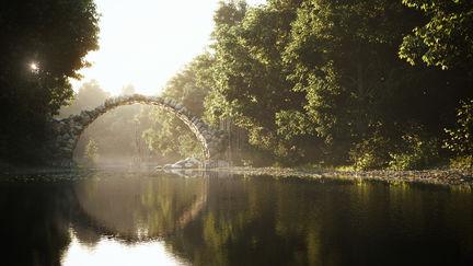 The Bridge at Rakotz