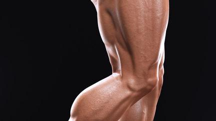 Arnold legs close up