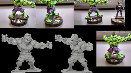 Hulk sculpt two