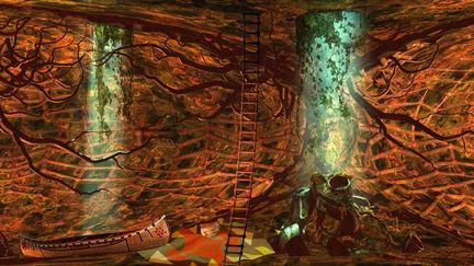 Peter Pan-The Lost Boys Underground Den
