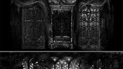 The Castle's Guest Bedroom and the Castle's Destruction