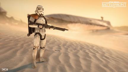 Star Wars Battlefront - Sandtrooper