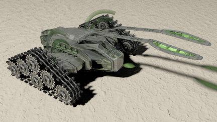 Futuristic Tank