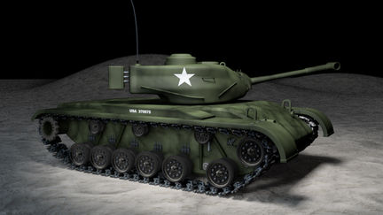 M47_Patton_ Tank