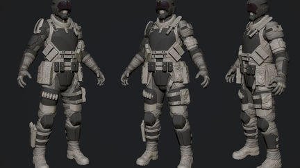 G.N.R IC Trooper 3D