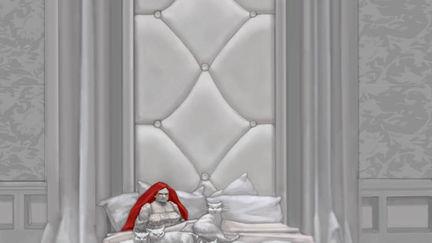 Ghormenghast - Queen's Bedroom