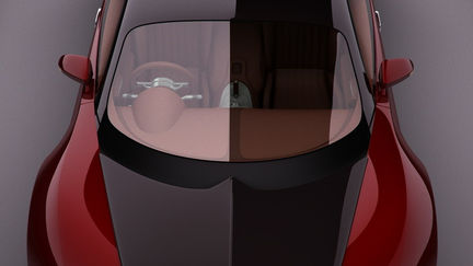 Bugatti Veyron in the Studio