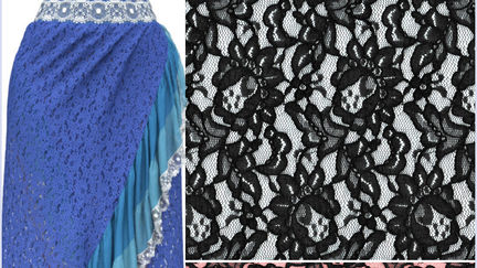Free Seamless Lace Texture PNG for 3D Clothing!