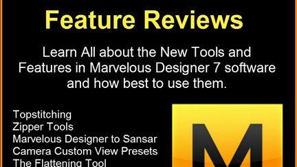 Learn Marvelous Designer 7 Tutorials