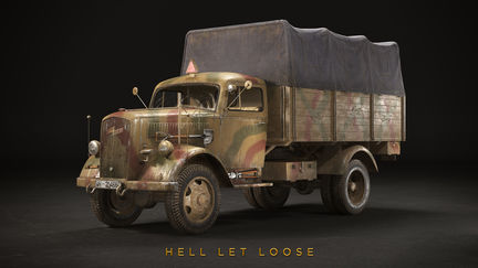 Opel Blitz with camo - Hell Let Loose