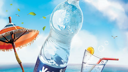 Billboard for a Natural Mineral Water