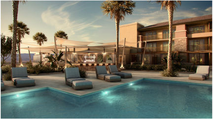 Architecture: Pool rendering