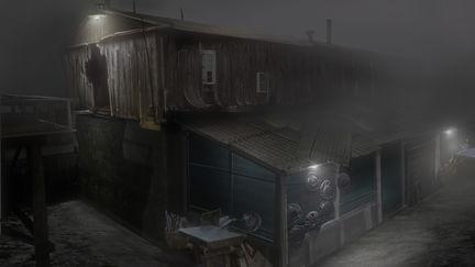 Silent Hill Homecoming repair shop 01