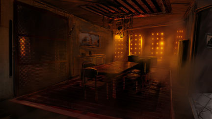 Silent Hill Homecoming dining room