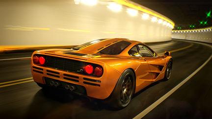 Mclaren F1 tunnel