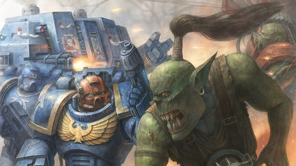 Ultramarine vs Orkboy