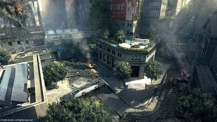 Crysis 2 - Wall Street