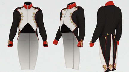 Frock coat and old style tailcoat.