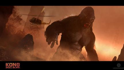 Kong Skull Island Concept Sketches