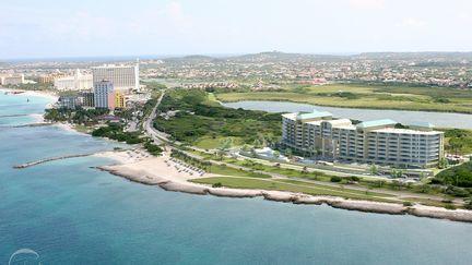 The Cliff - Aruba / Aerial view