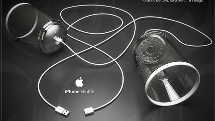 the new iPhone Shuffle - It's Magic!