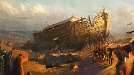 Noah ship -Concept design for a park