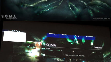 SOMA PS4 Title Screen