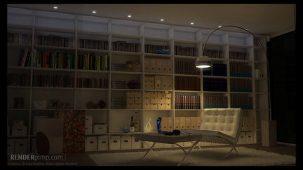 interior - chilling space -
